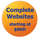 complete websites $899