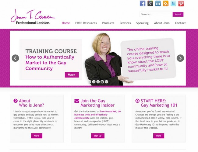 Website Redesign for Blogger, Podcaster, Author