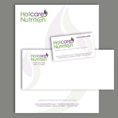 Nutrition Logo and Stationery