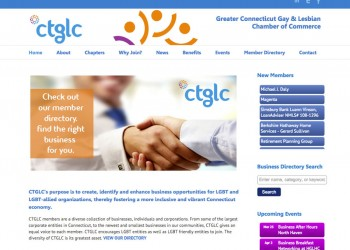 Chamber of Commerce membership website design
