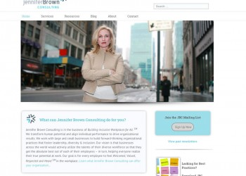 NYC consulting business web design