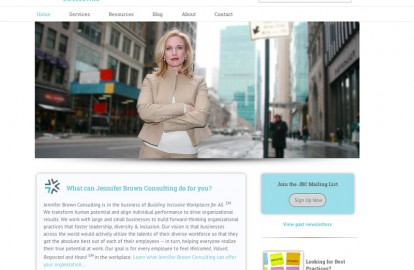 NYC consulting business web desi...