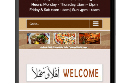 Mobile-Friendly Restaurant Web D...